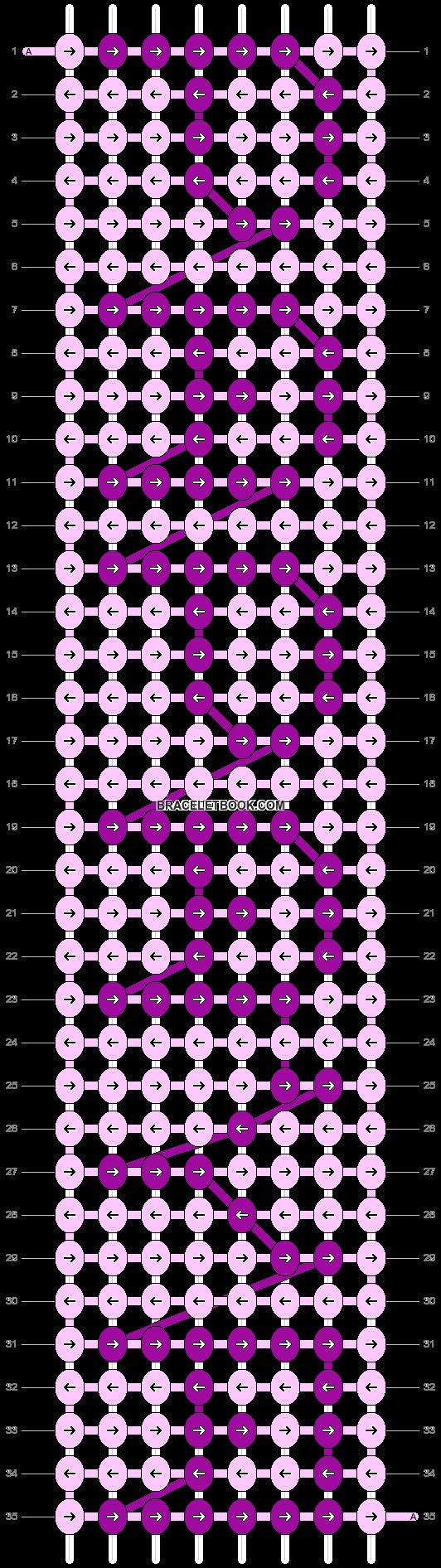 Alpha pattern #4476 pattern