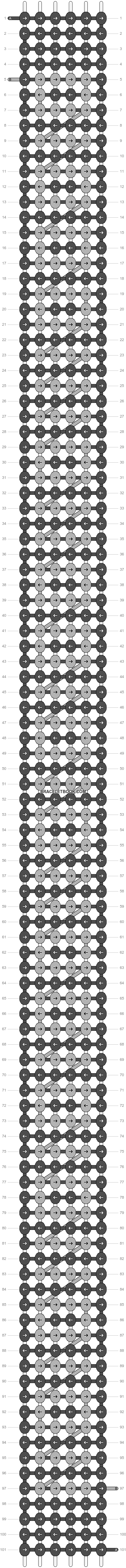 Alpha pattern #4481 pattern