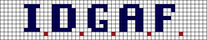Alpha pattern #4483