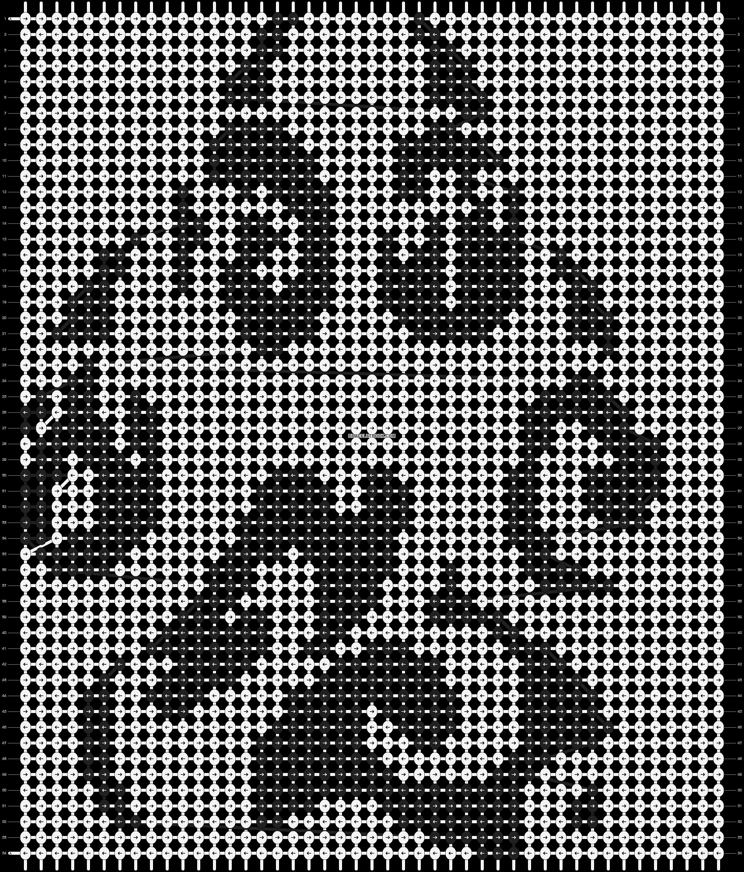 Alpha pattern #4491 pattern