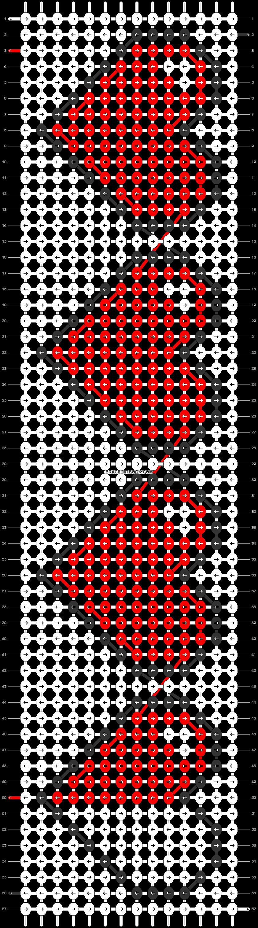 Alpha pattern #4495 pattern