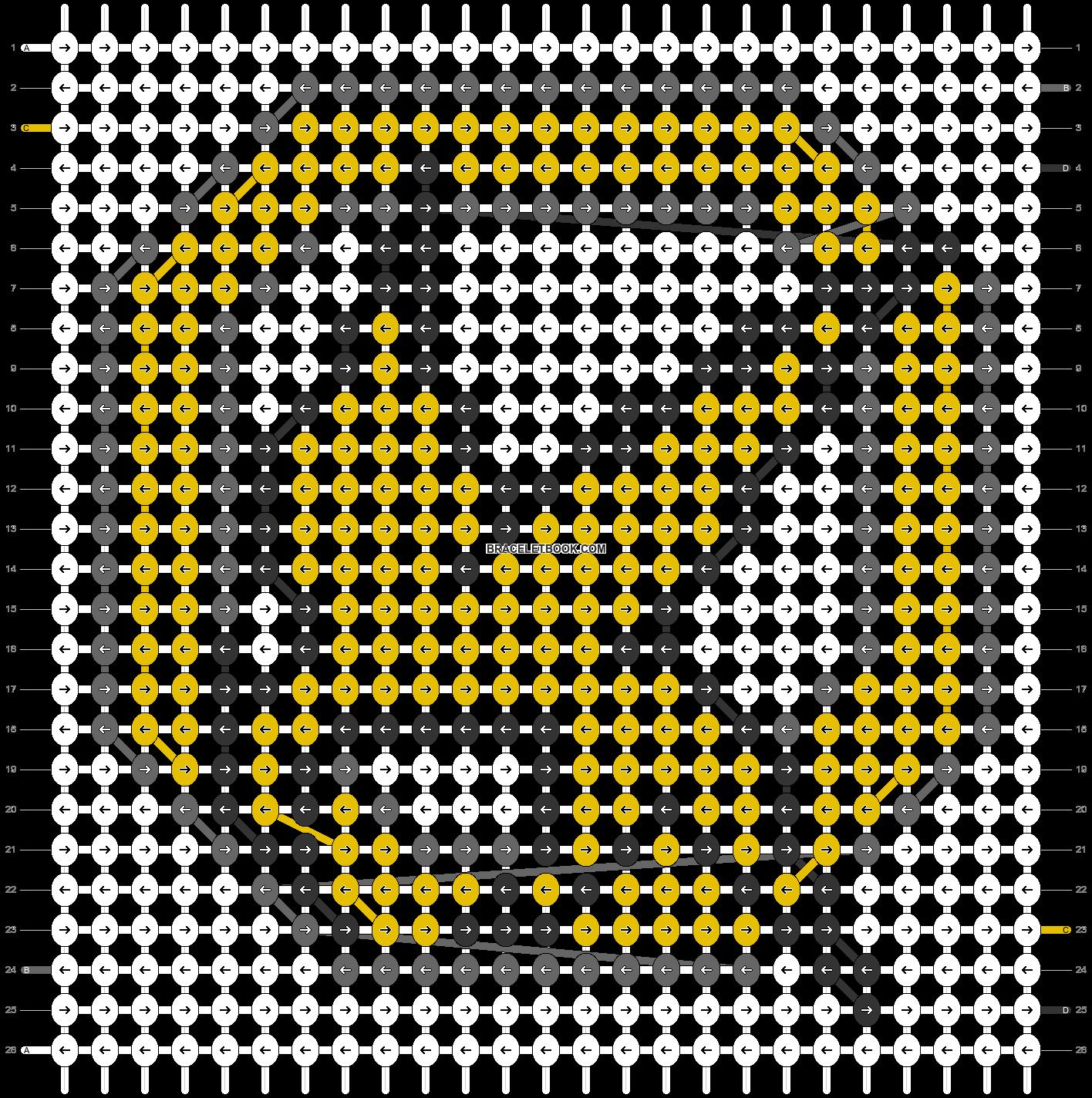 Alpha pattern #4496 pattern
