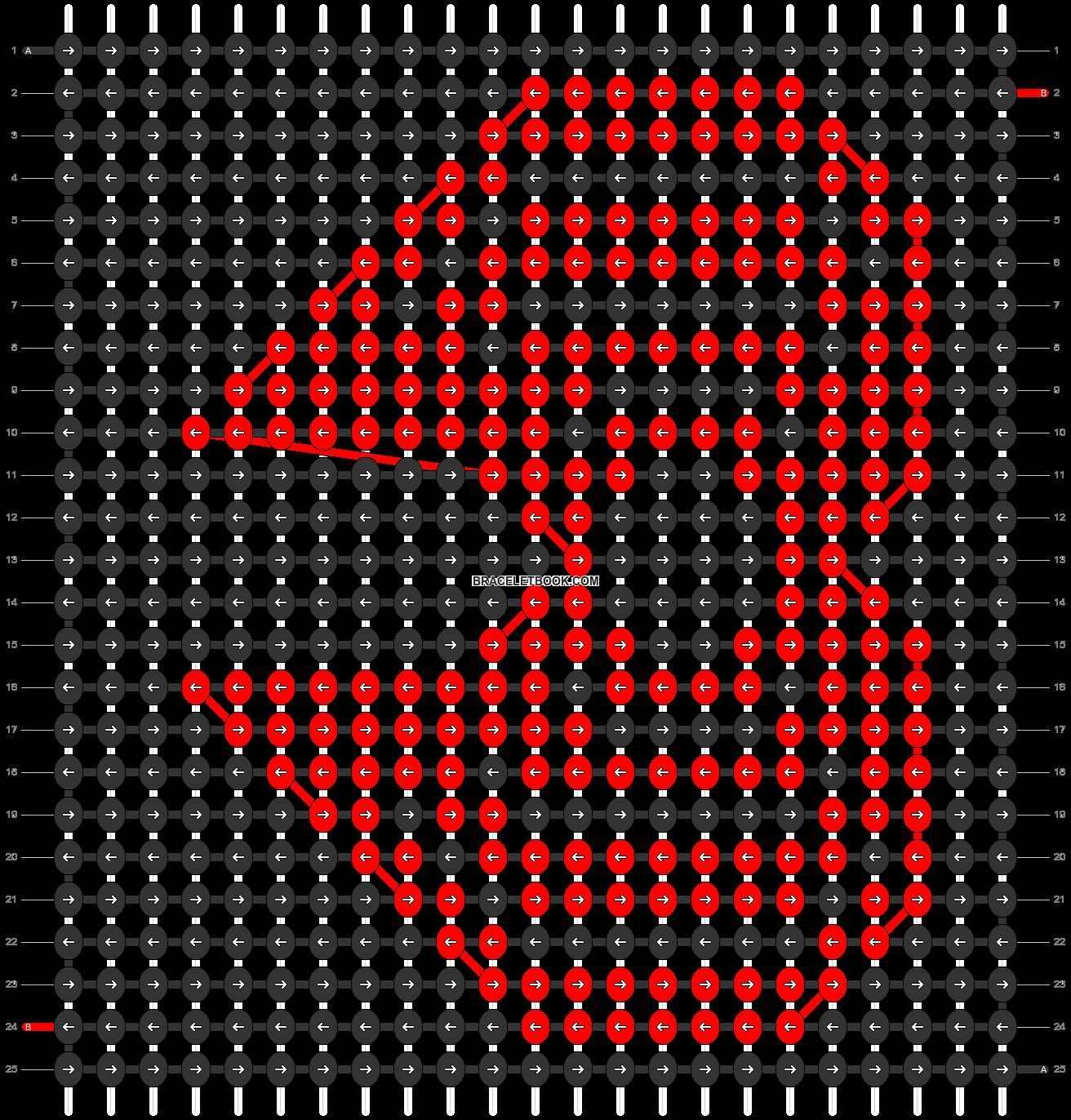 Alpha pattern #4497 pattern