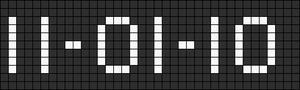 Alpha pattern #4503