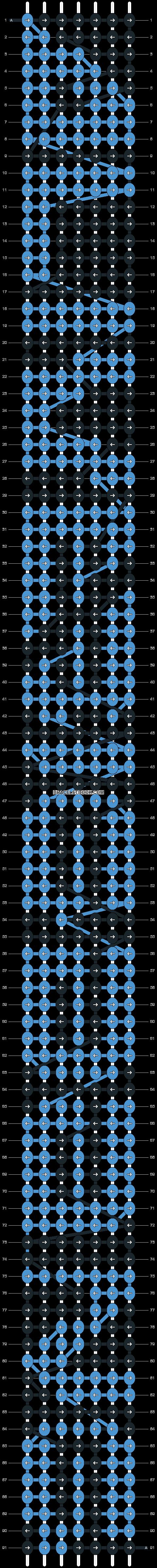 Alpha pattern #4504 pattern