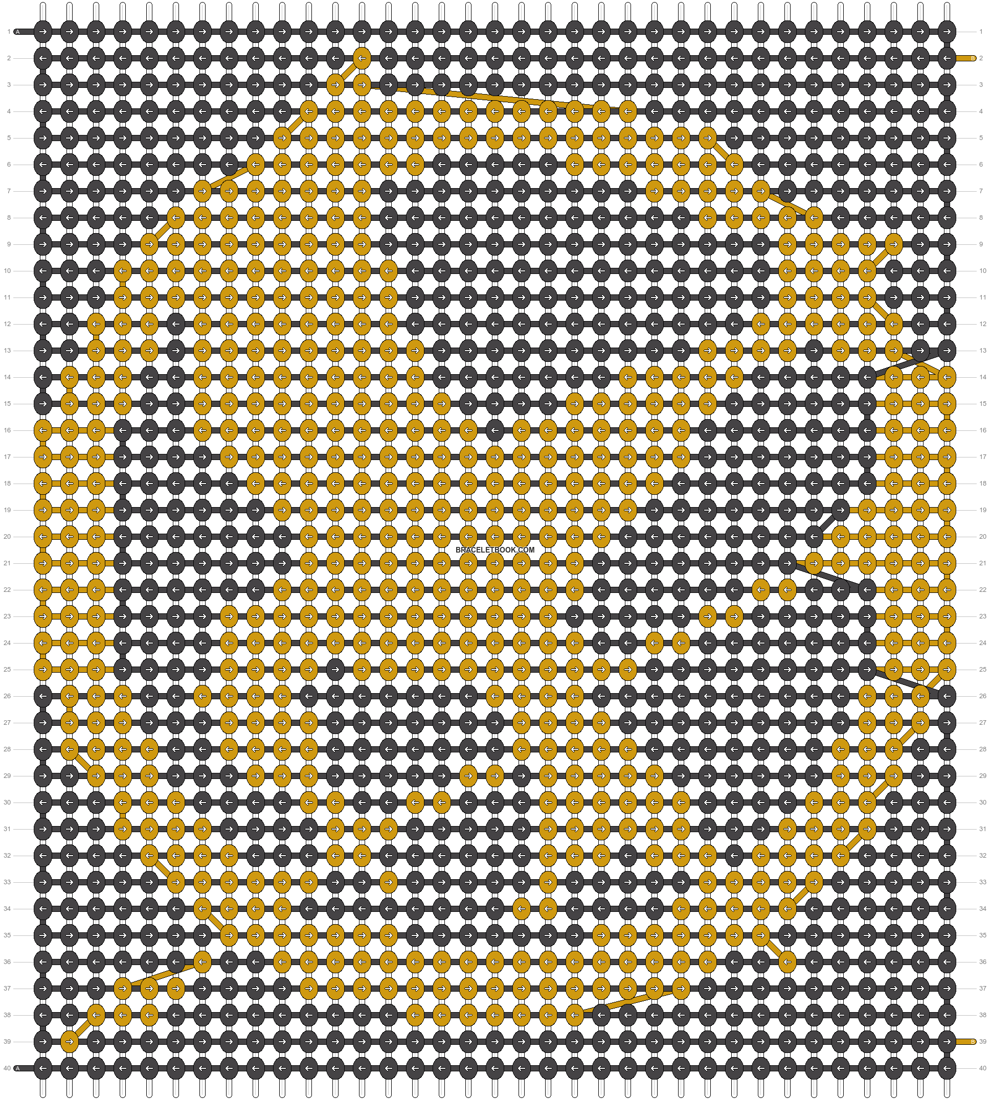 Alpha pattern #4509 pattern