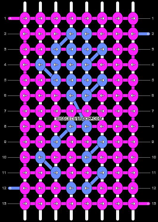 Alpha pattern #4510 pattern