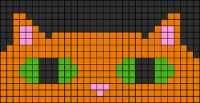 Alpha Friendship Bracelet Pattern #4525