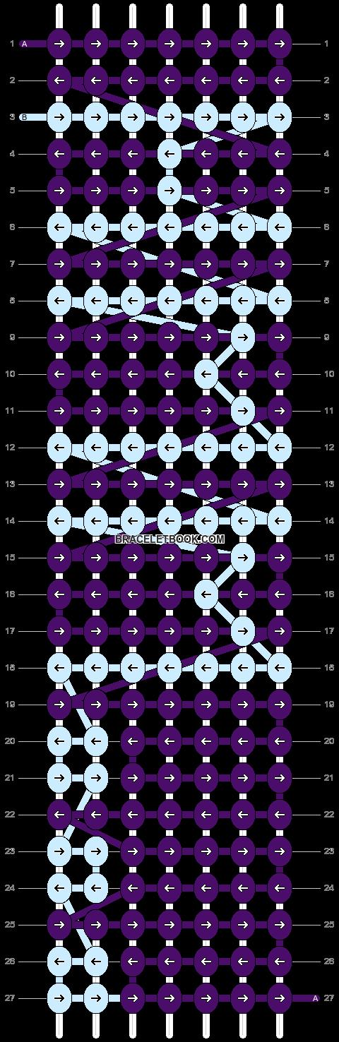 Alpha pattern #4531 pattern