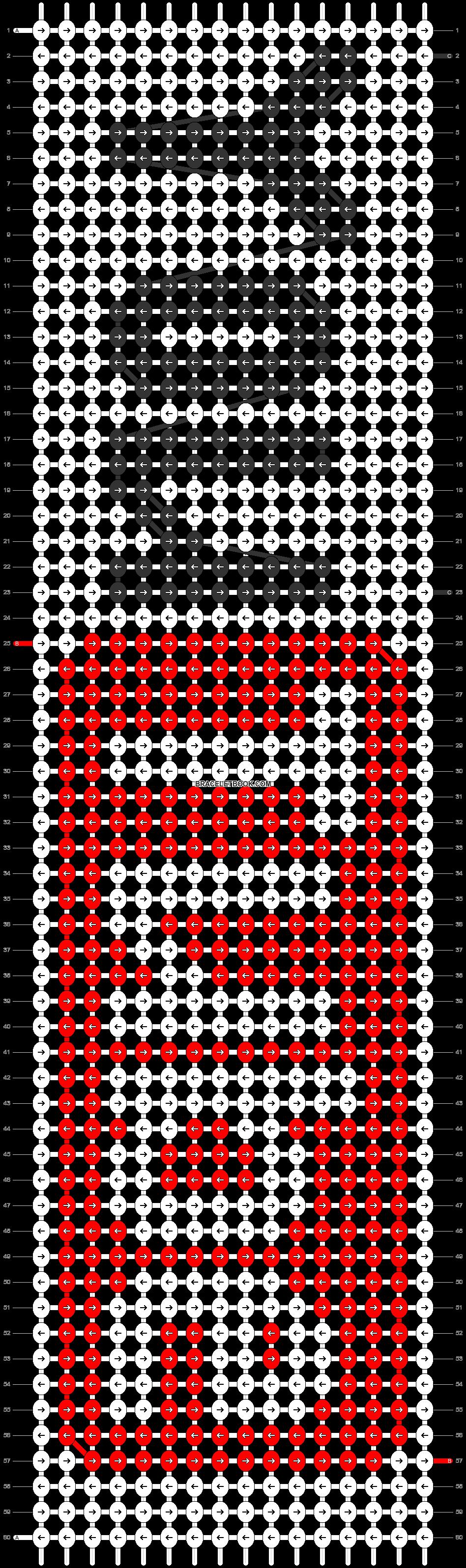 Alpha pattern #4535 pattern