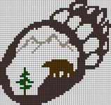 Alpha Friendship Bracelet Pattern #4541