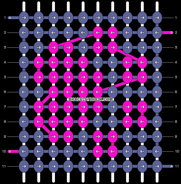 Alpha pattern #4544 pattern