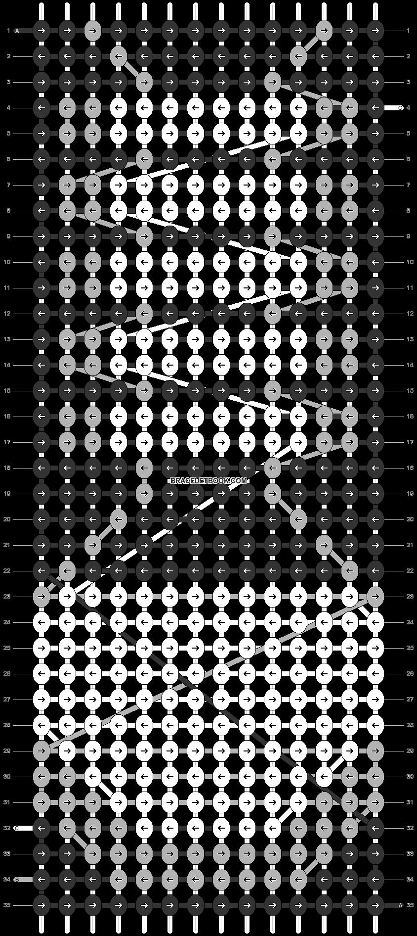 Alpha pattern #4546 pattern