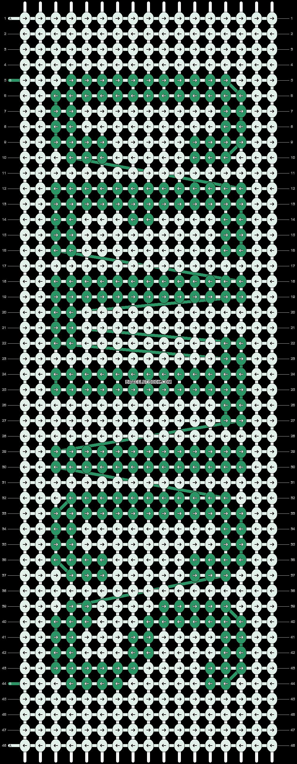 Alpha pattern #4551 pattern