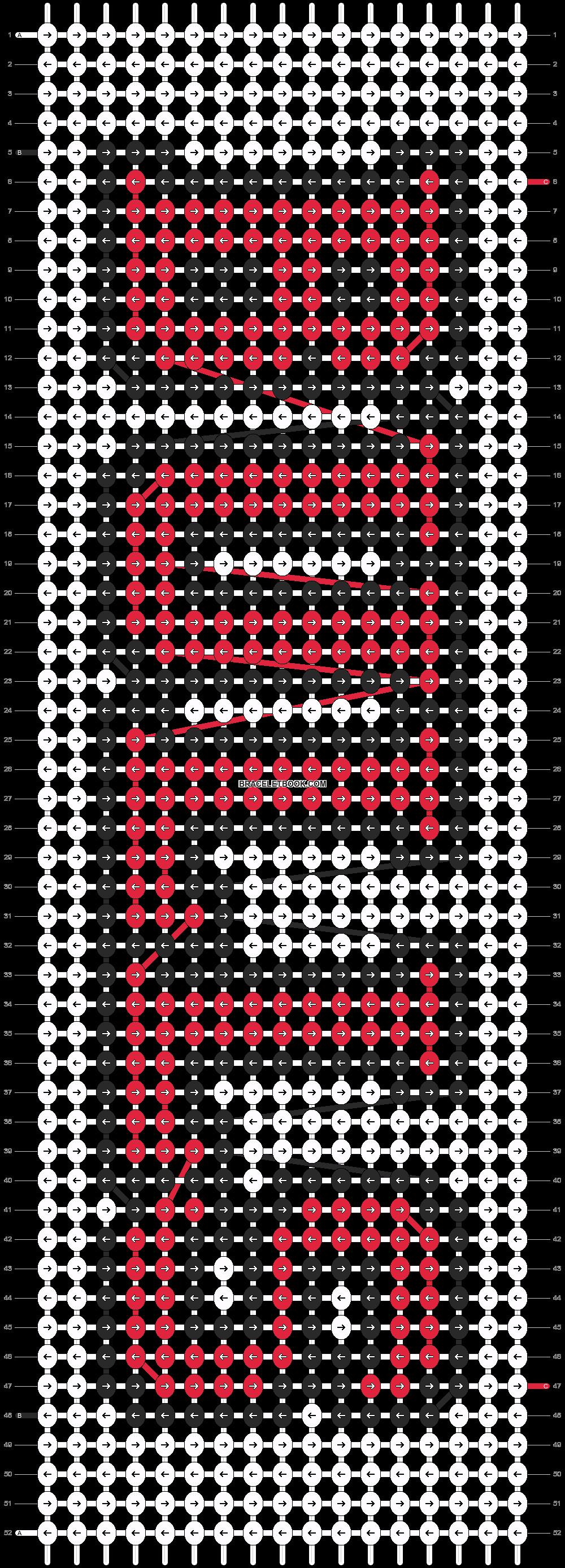 Alpha pattern #4552 pattern