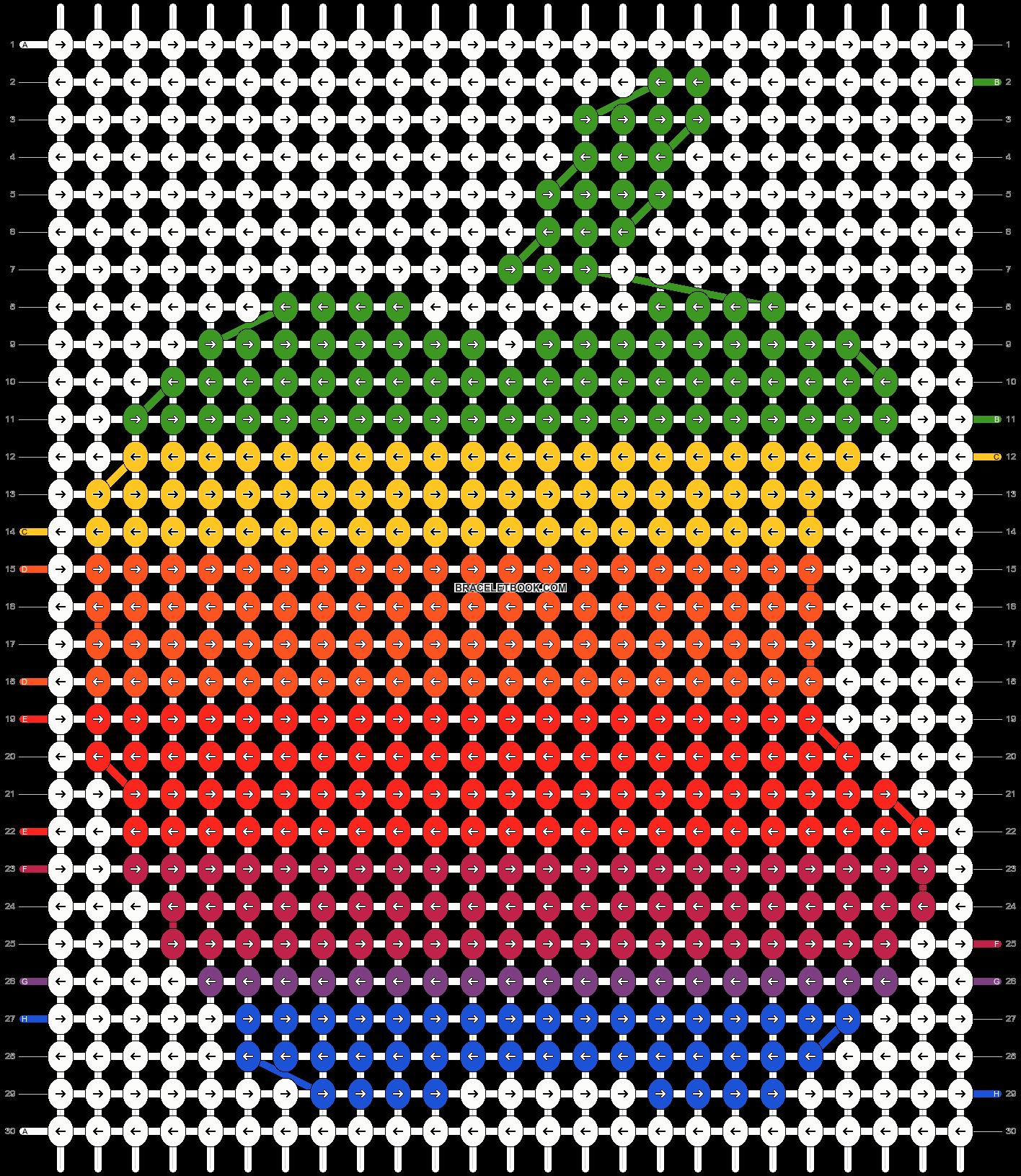 Alpha pattern #4562 pattern