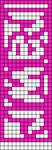 Alpha pattern #4570
