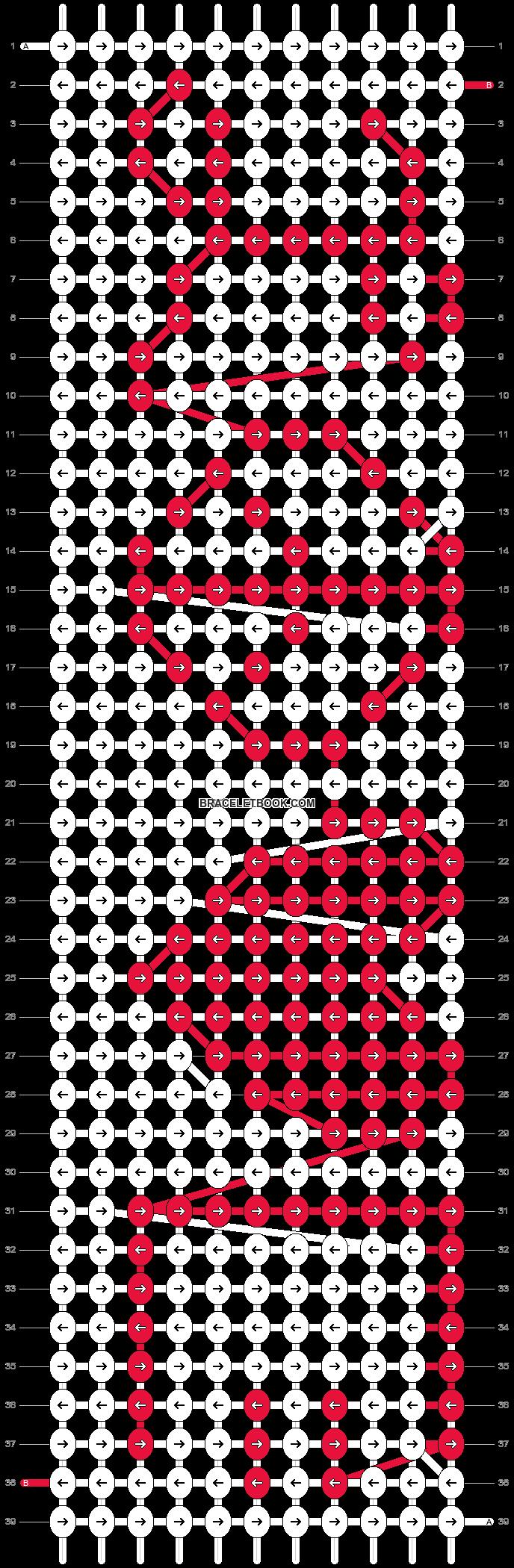 Alpha pattern #4572 pattern