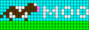 Alpha pattern #4580