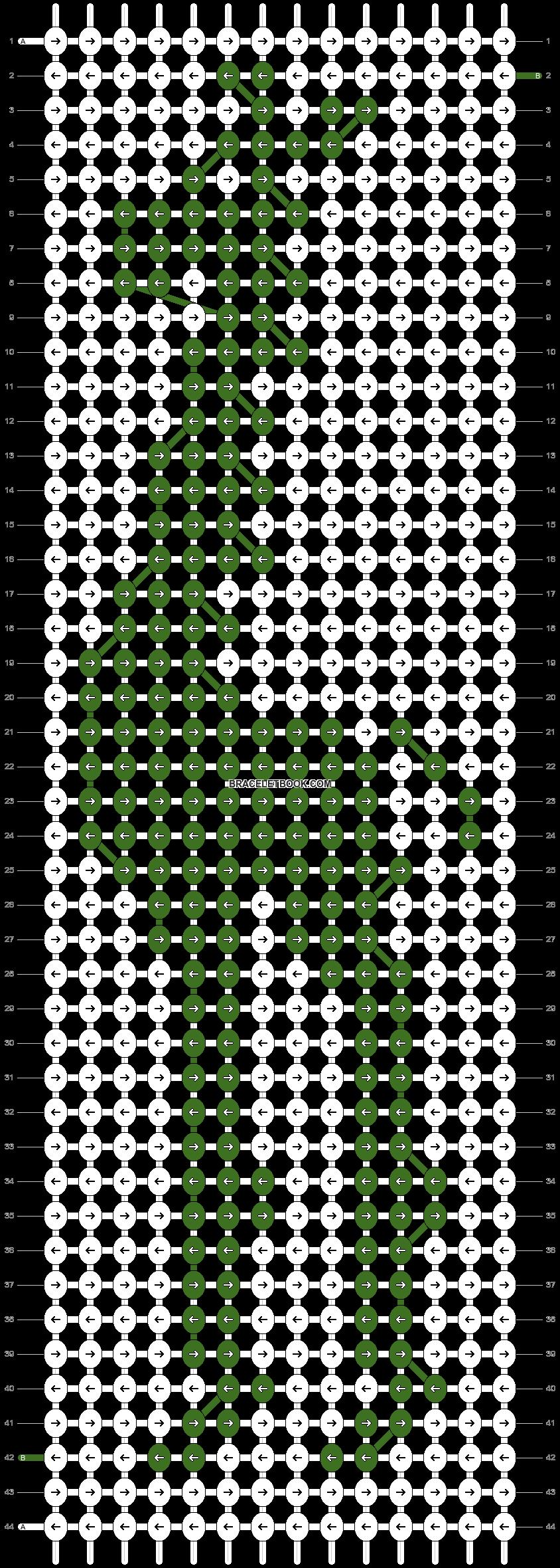 Alpha pattern #4581 pattern