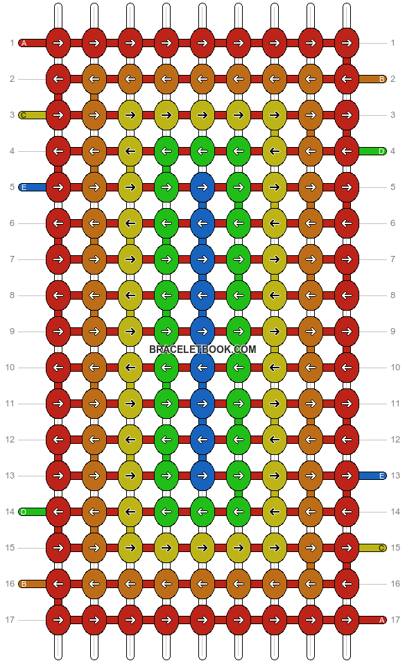 Alpha pattern #4583 pattern