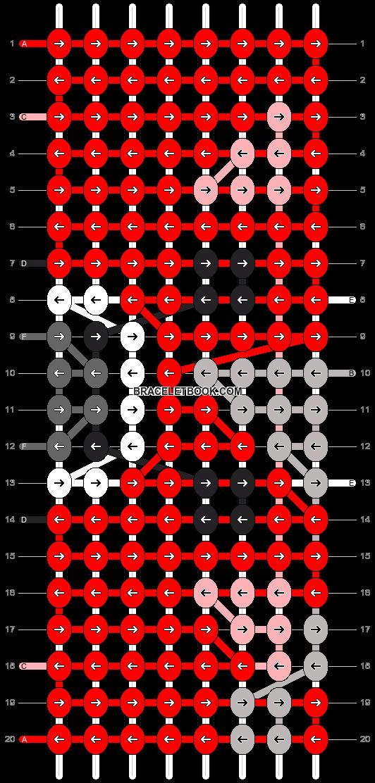 Alpha pattern #4585 pattern