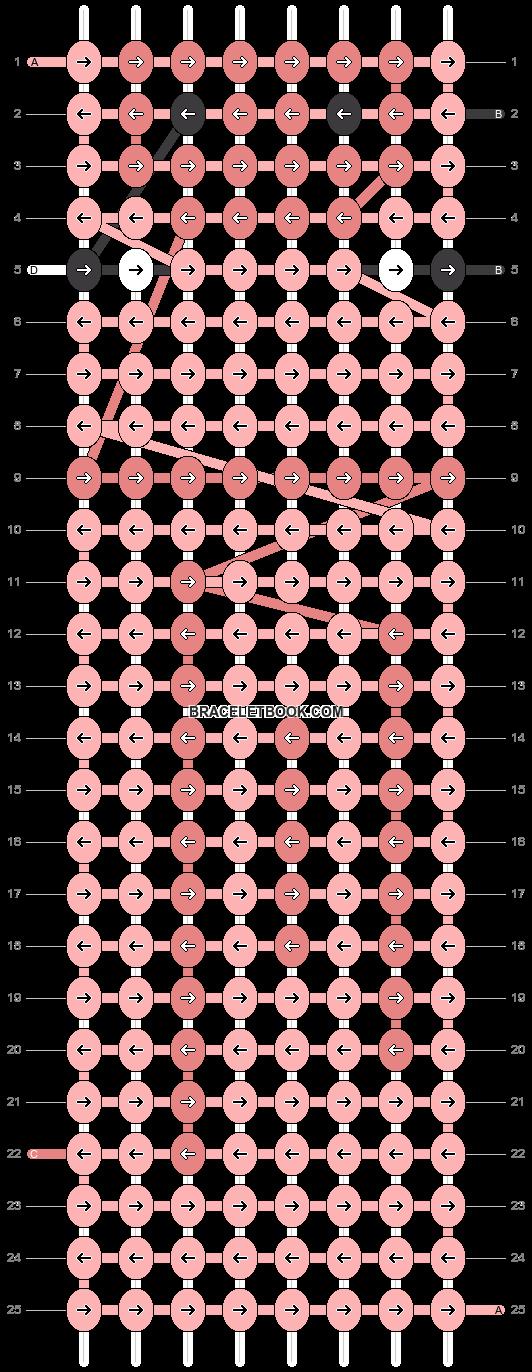 Alpha pattern #4586 pattern