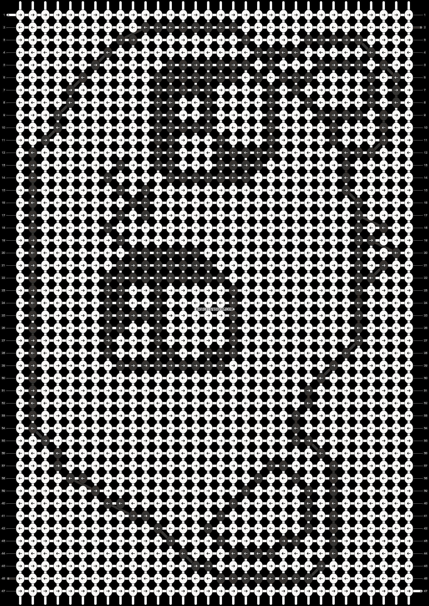 Alpha pattern #4587 pattern