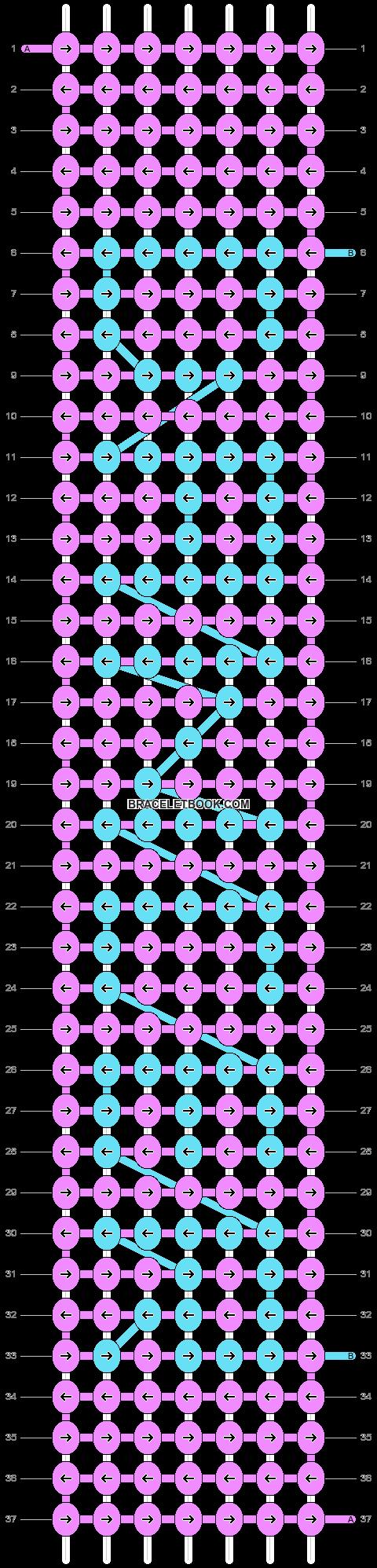 Alpha pattern #4603 pattern