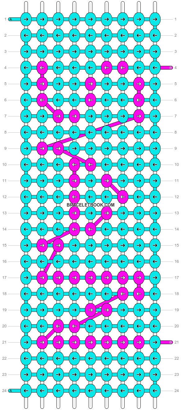 Alpha pattern #4604 pattern