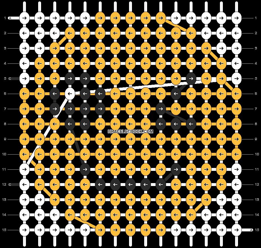 Alpha pattern #4605 pattern