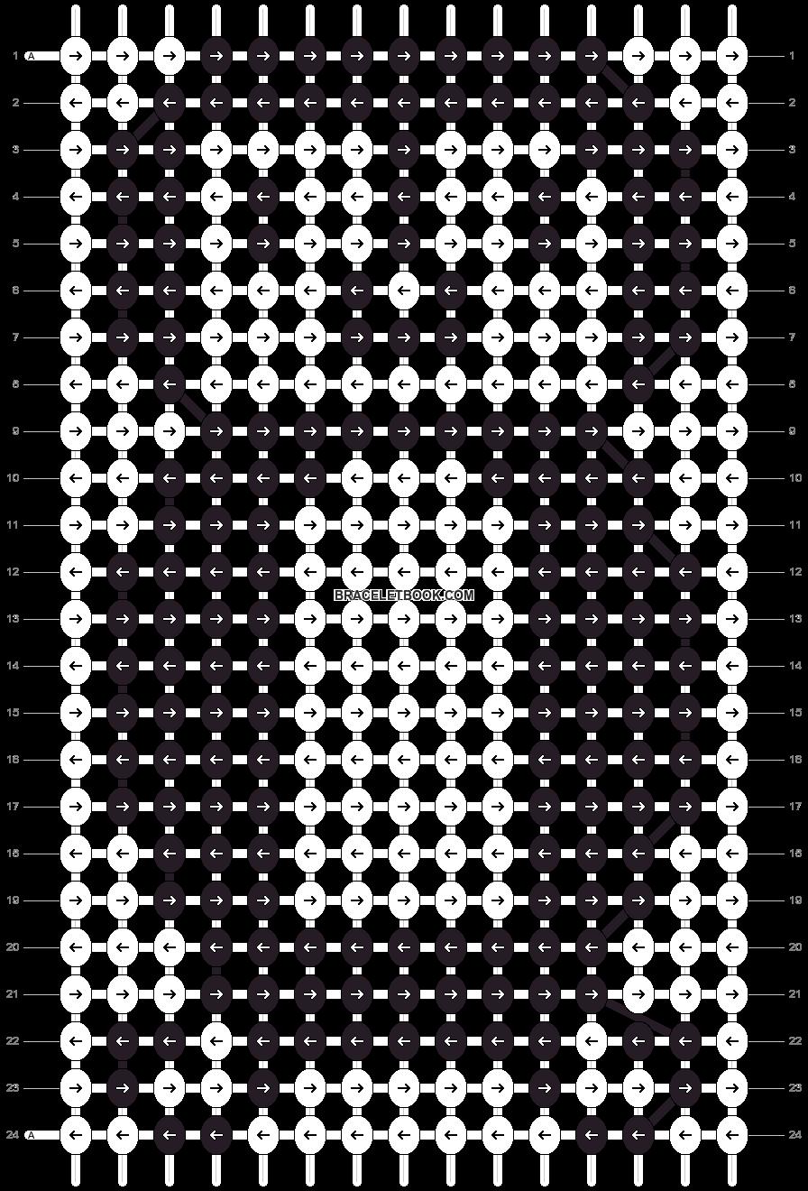Alpha pattern #4609 pattern