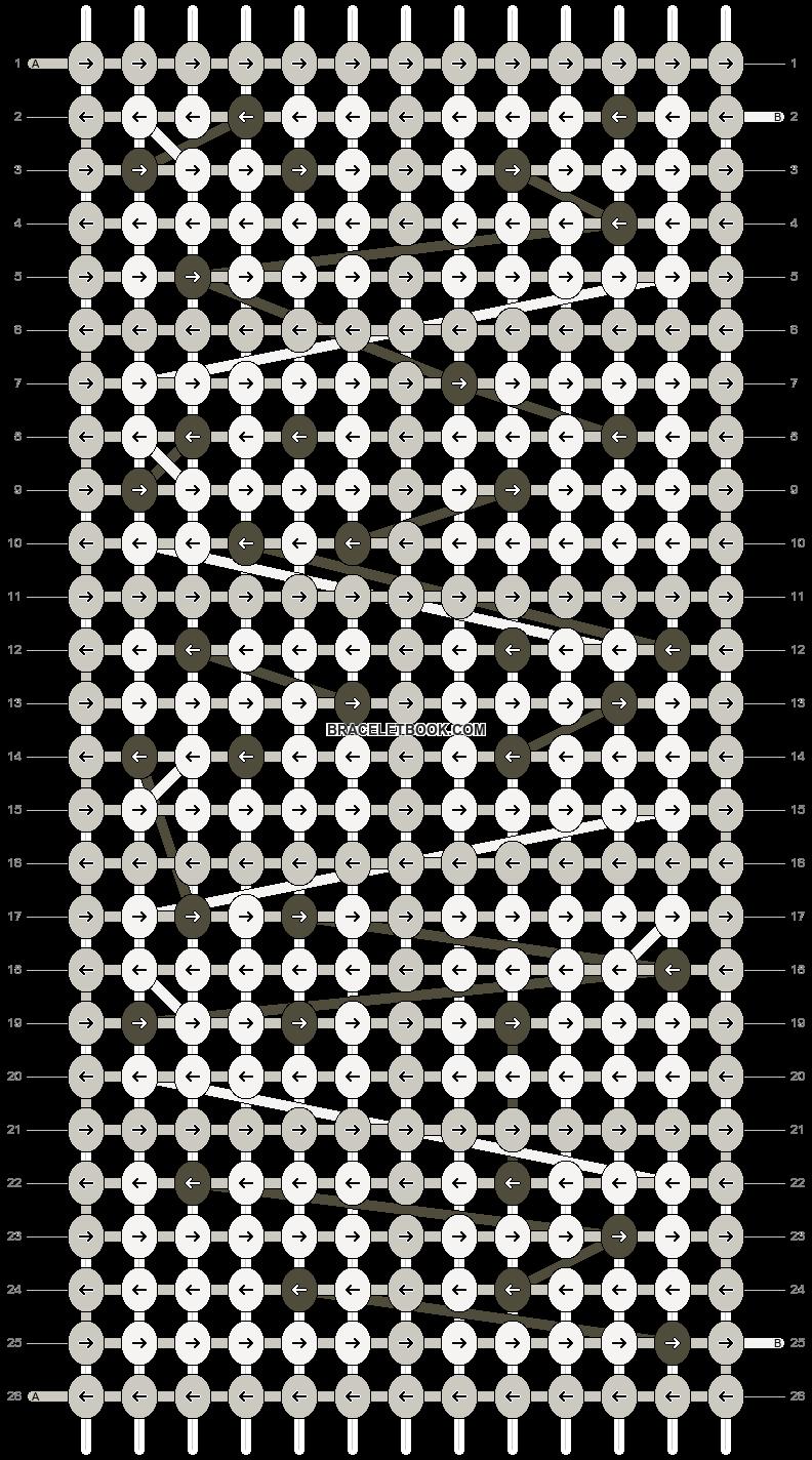 Alpha pattern #4611 pattern