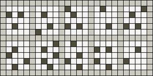 Alpha Friendship Bracelet Pattern #4611