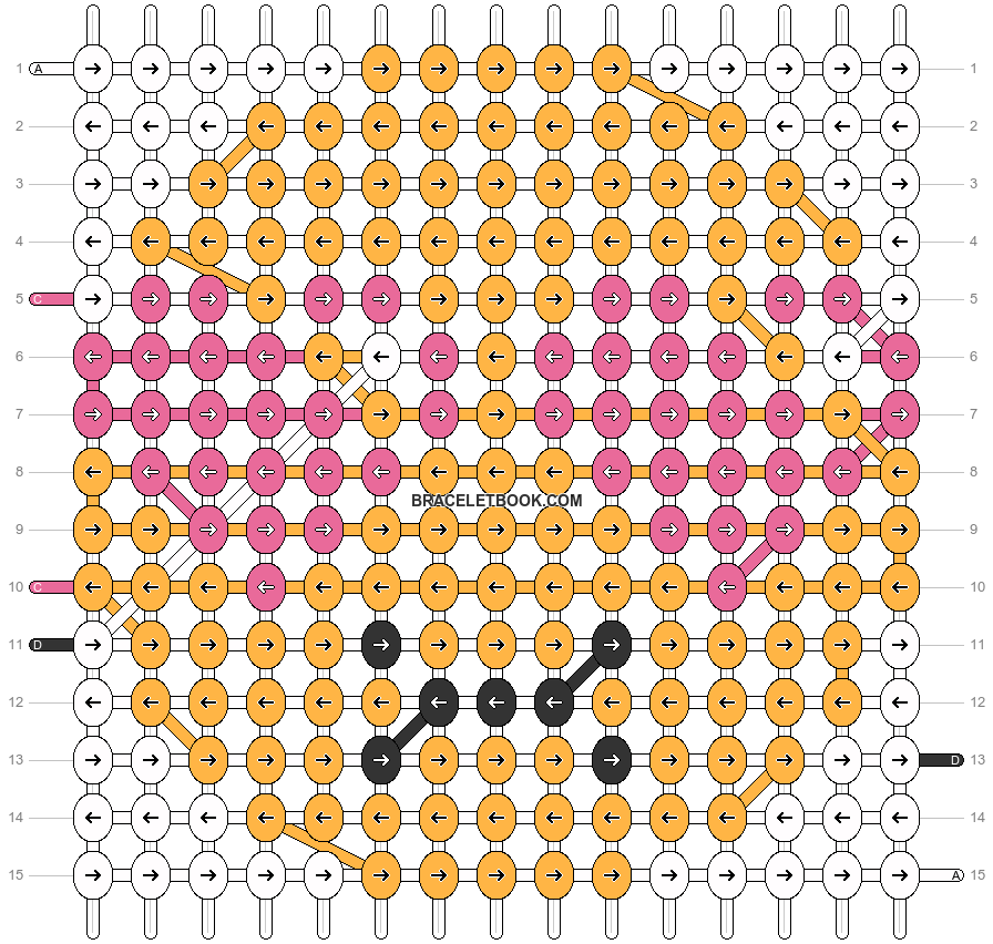 Alpha pattern #4617 pattern