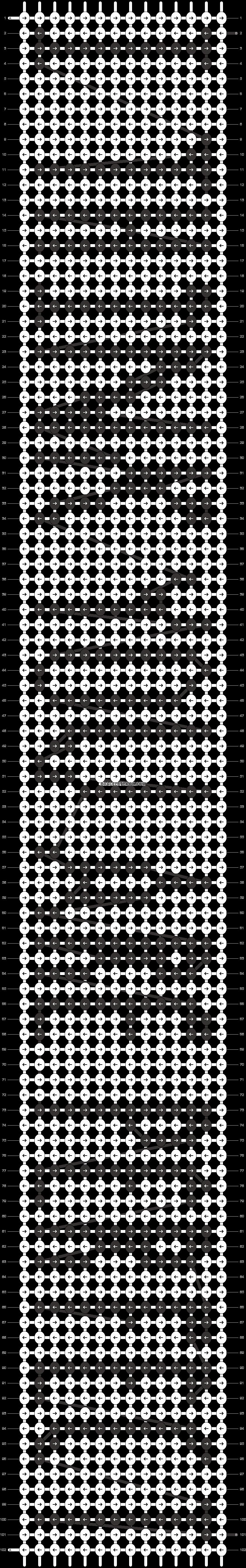 Alpha pattern #4620 pattern