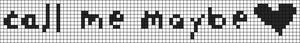 Alpha pattern #4623