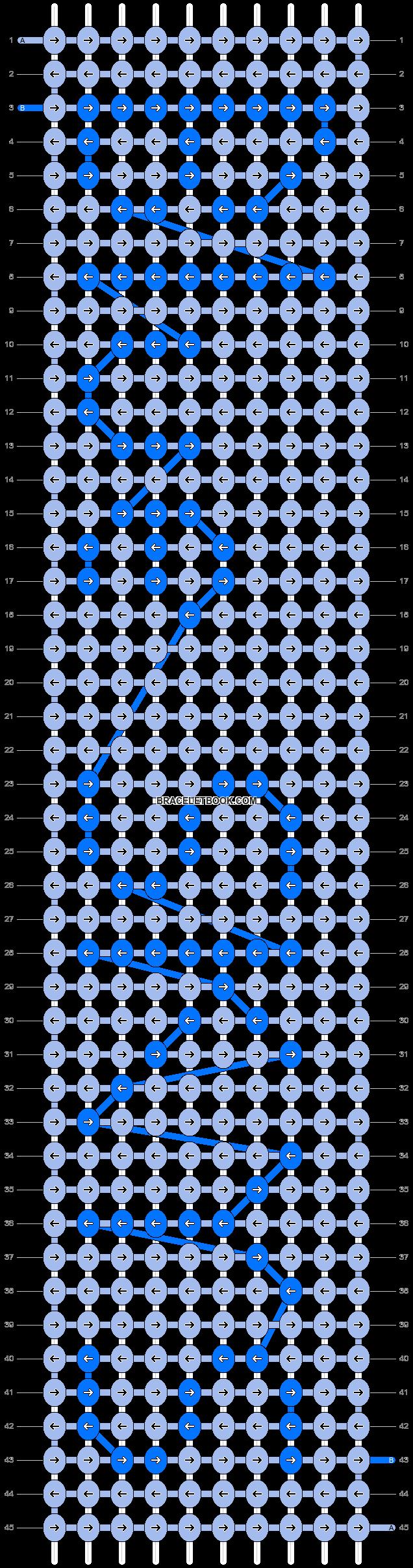Alpha pattern #4642 pattern