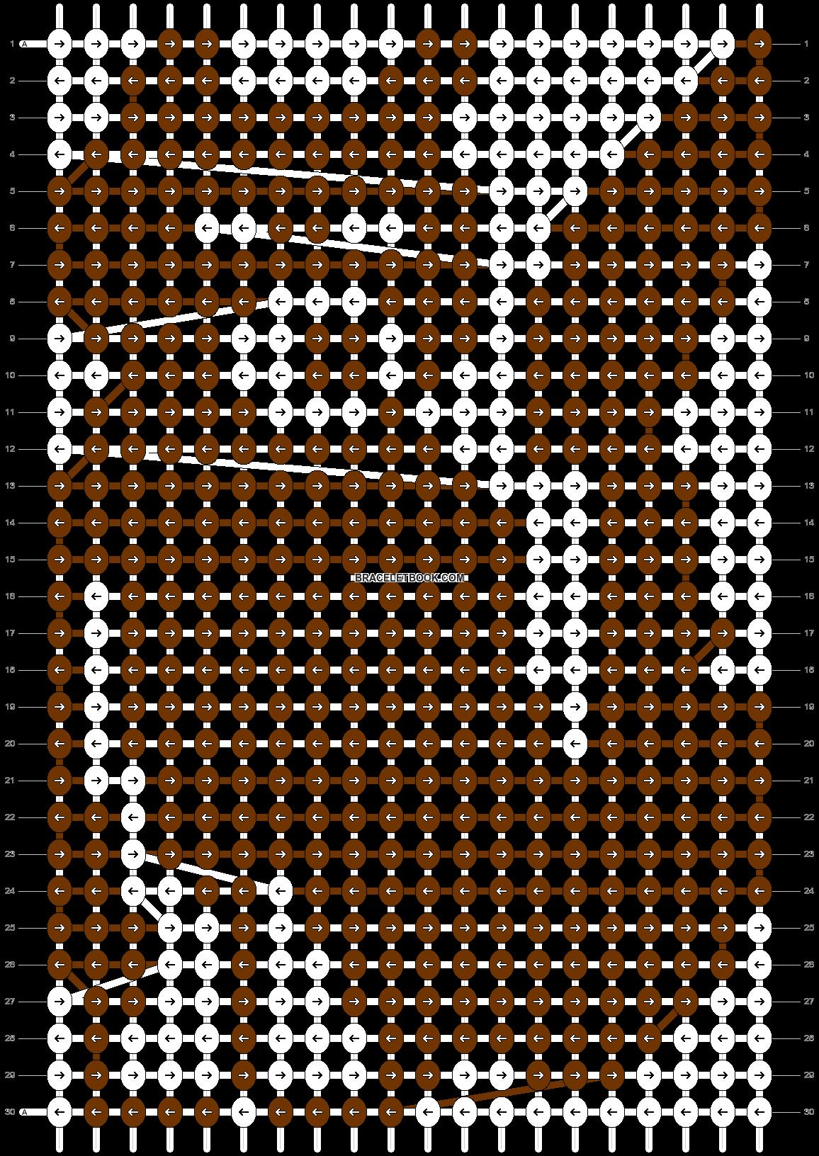 Alpha pattern #4658 pattern