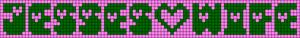 Alpha pattern #4665