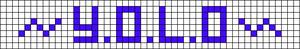 Alpha pattern #4668