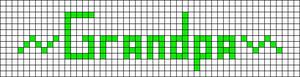 Alpha pattern #4670