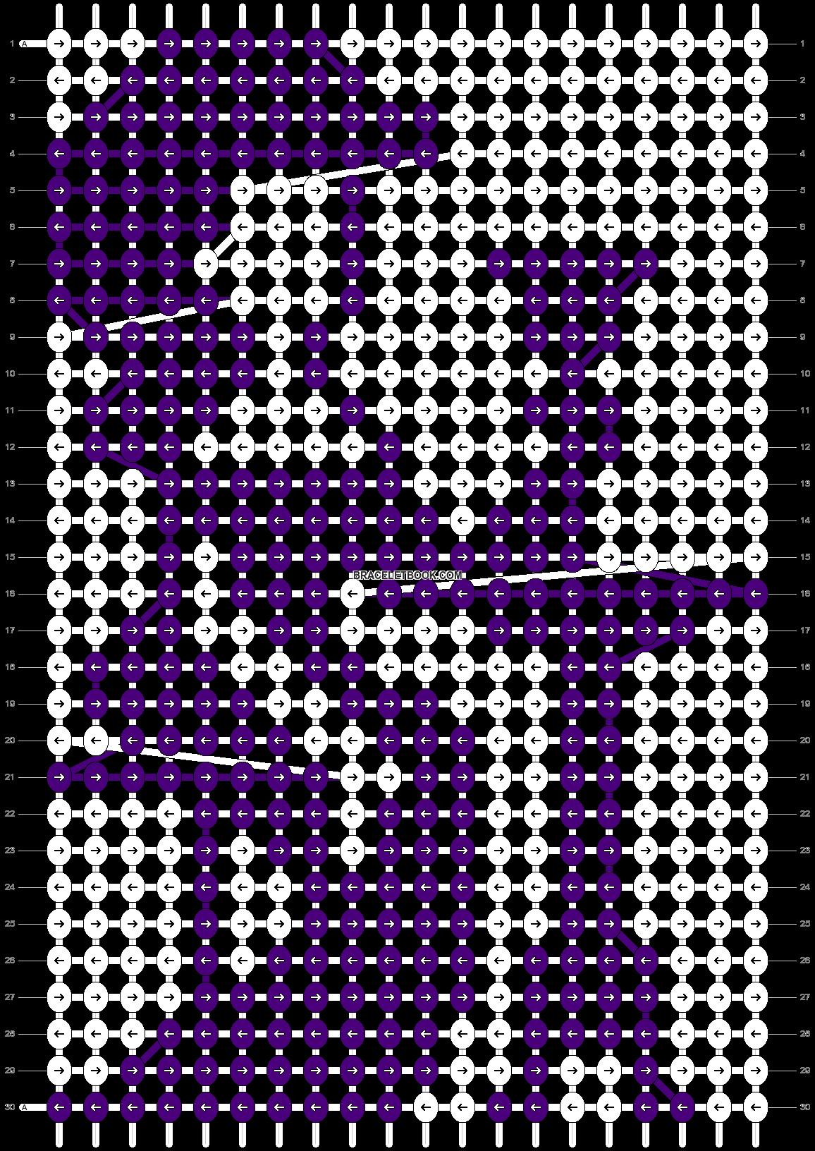 Alpha pattern #4672 pattern