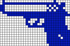 Alpha pattern #4676