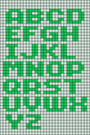 Alpha pattern #4677