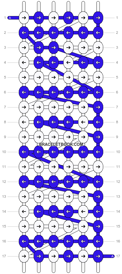 Alpha pattern #4691 pattern