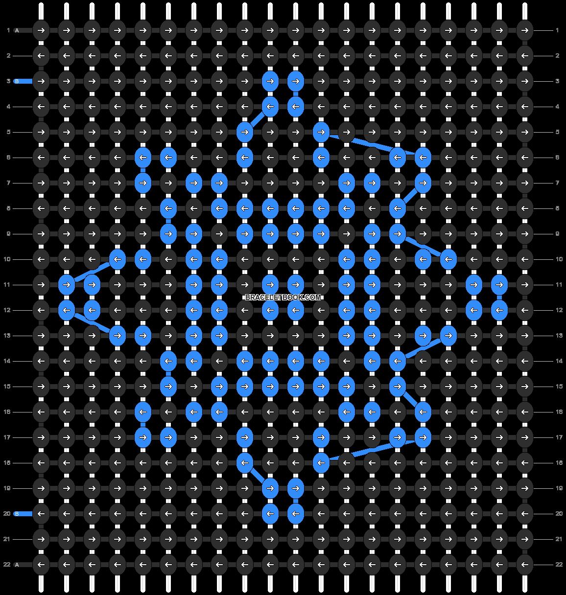 Alpha pattern #4711 pattern