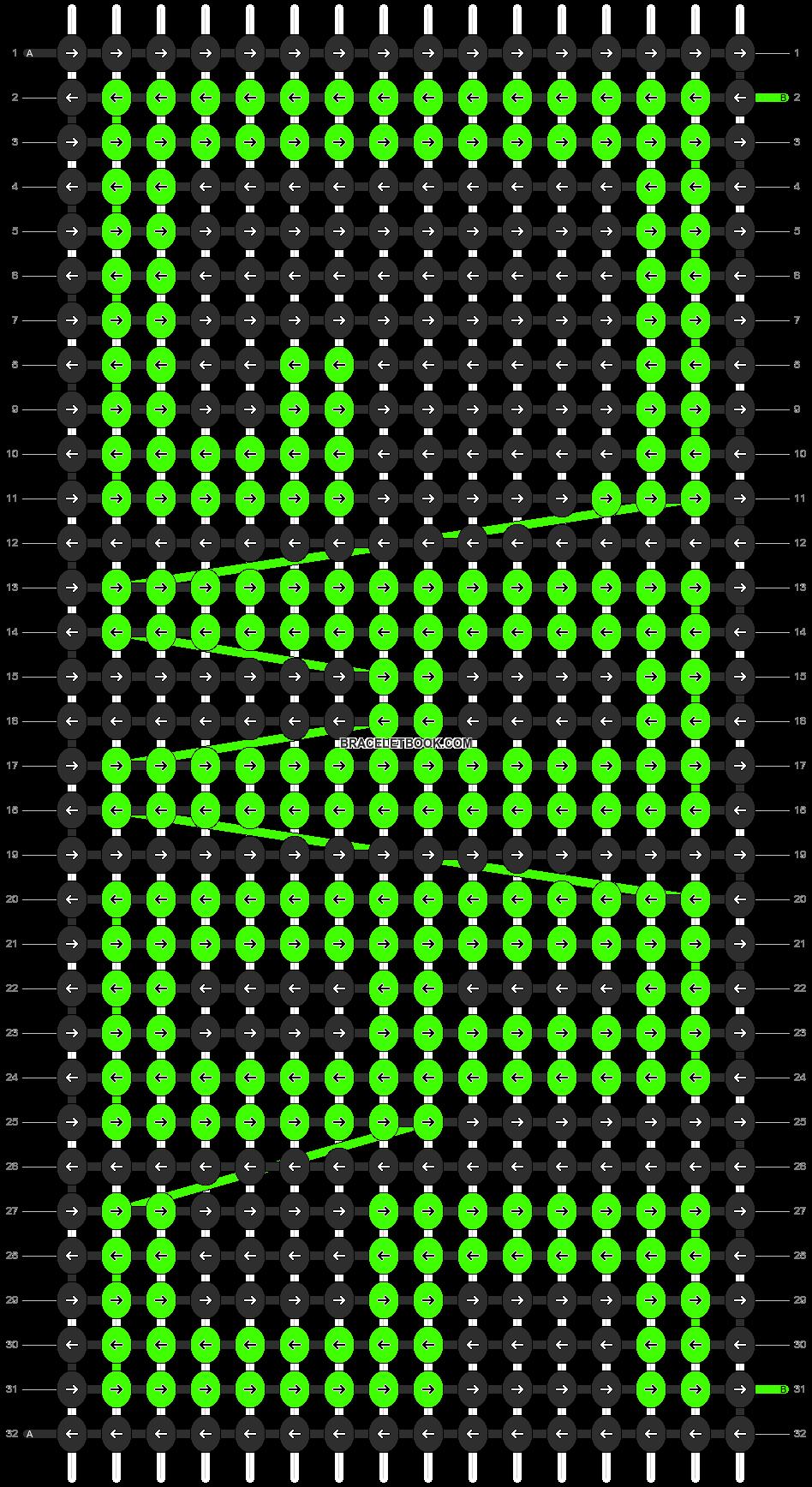 Alpha pattern #4712 pattern