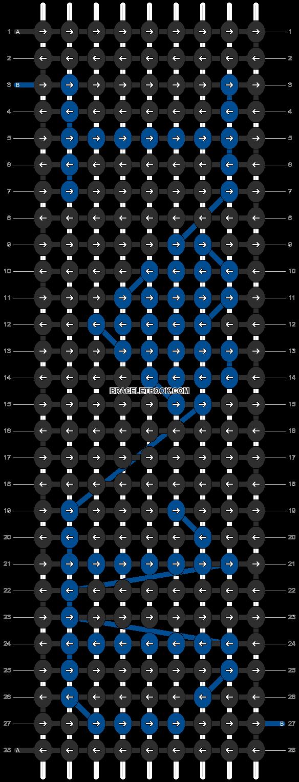 Alpha pattern #4727 pattern