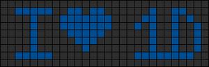 Alpha pattern #4727